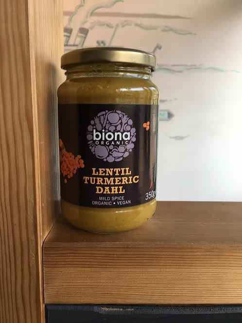 Organic LentilTurmeric Dahl- Mild Spice