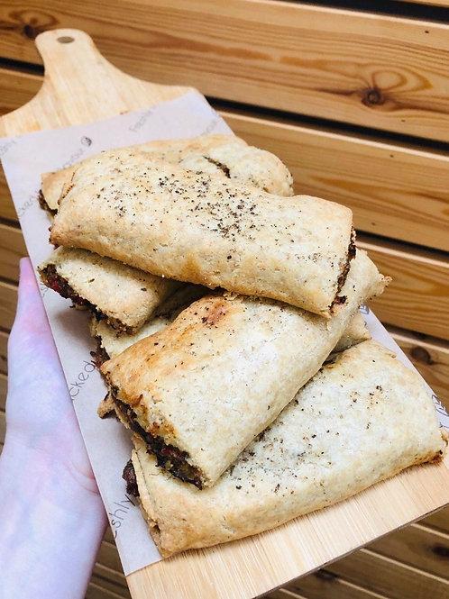Vegan, Keto sausage rolls