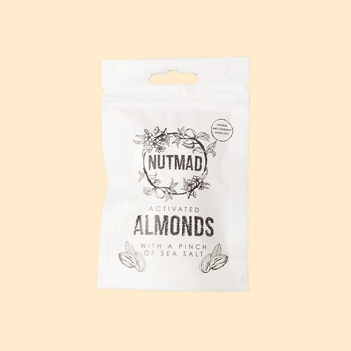 Nutmad Activated Almonds 70g - With a Pinch of Salt