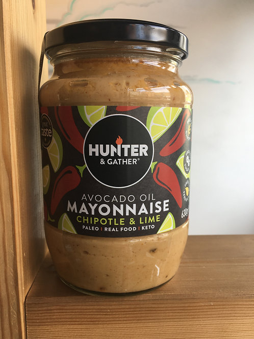 Avocado Mayonnaise- Chipotle & Lime 630g
