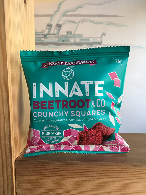 Beetroot Crunchy Squares