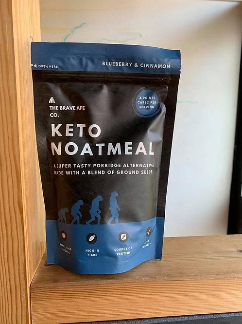 Keto Noatmeal Blueberry & Cinnamon grain-free porridge alternative