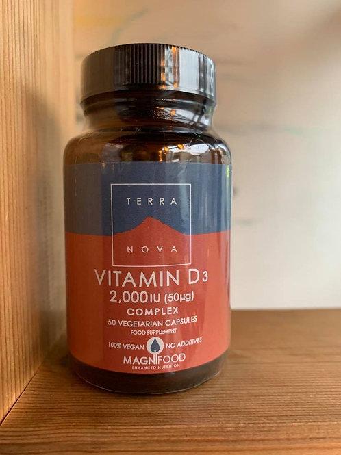 Vitamin D3 2,000IU Complex