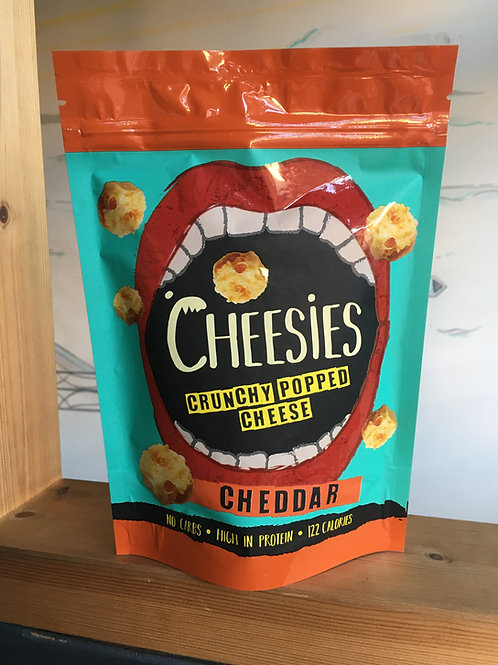 Cheesies Crunchy Popped Cheese Cheddar