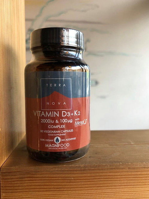 Vitamin D3 (2000iu) & K2
