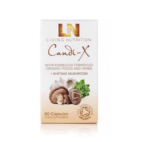 Candi X: Kefir-Kombucha Fermented Herbal Supplements With Shitake Mushroom (60)