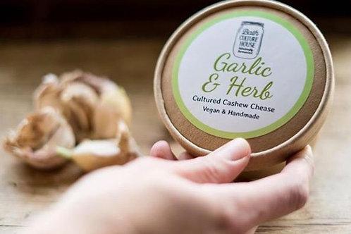 Vegan Garlic & Herb fermented chease