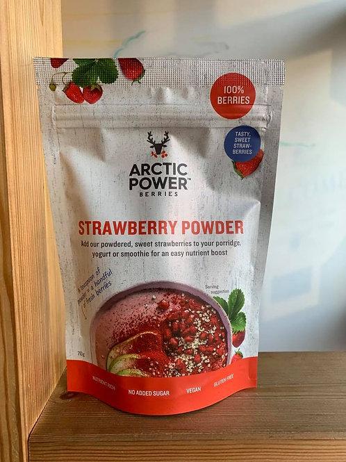 Freeze-dried Strawberry Powder