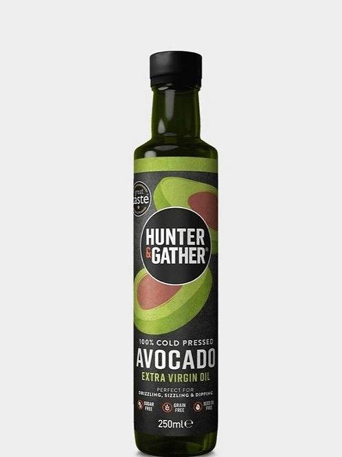 100% Cold Pressed Avocado Oil 250ml Hunter & Gather