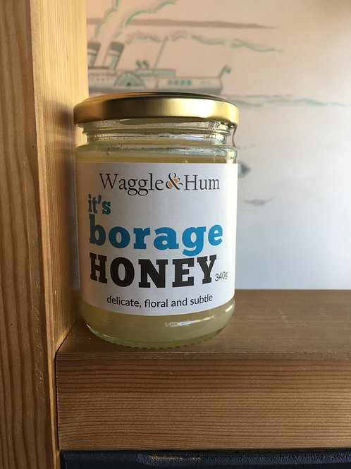 Clevedon-sourced Borage Honey