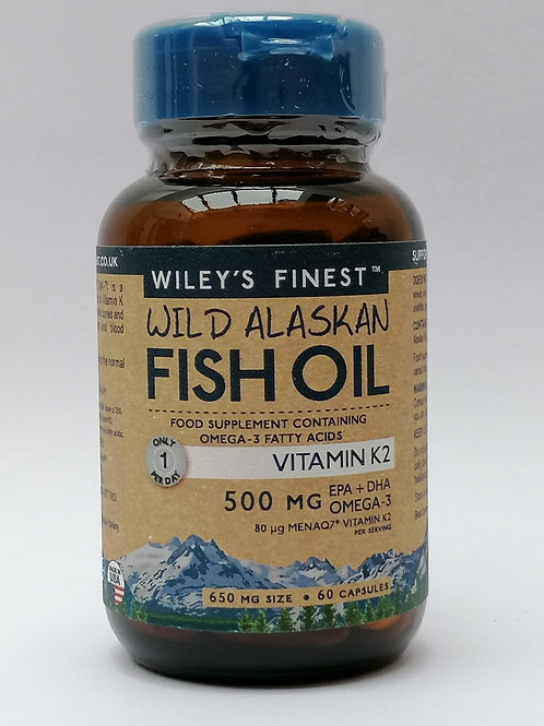 WILEY'S FINEST VITAMIN K2 500MG