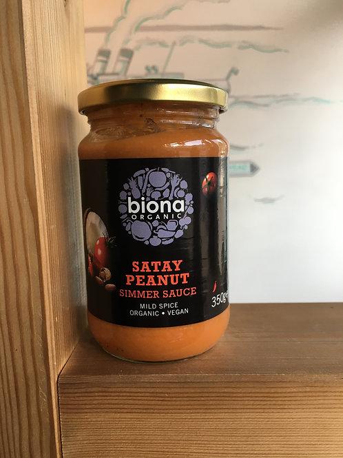 Organic Peanut Satay Sauce- Mild Spice