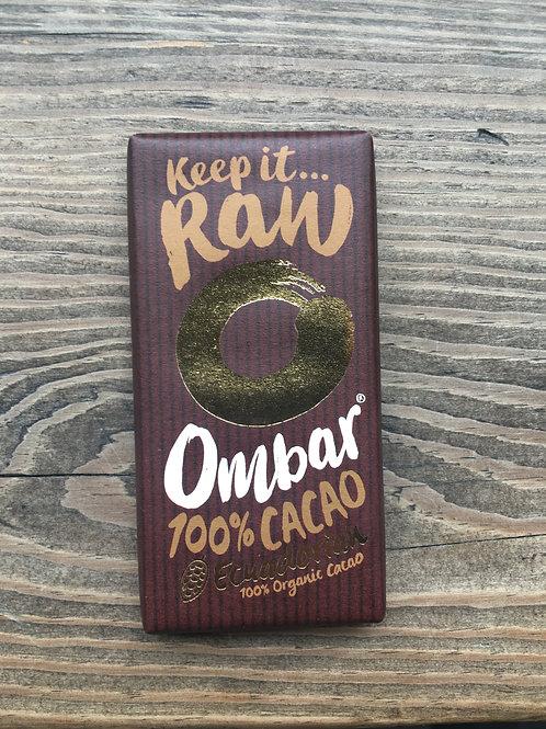 Ombar- 100% Raw organic chocolate
