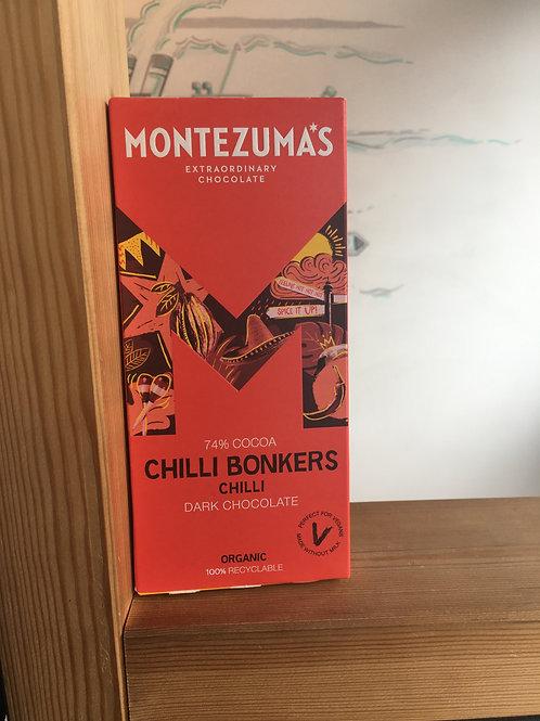 Organic Chocolate- Chilli Bonkers