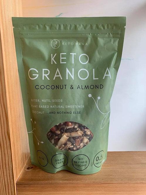 Keto  Granola Coconut & Almond 300g
