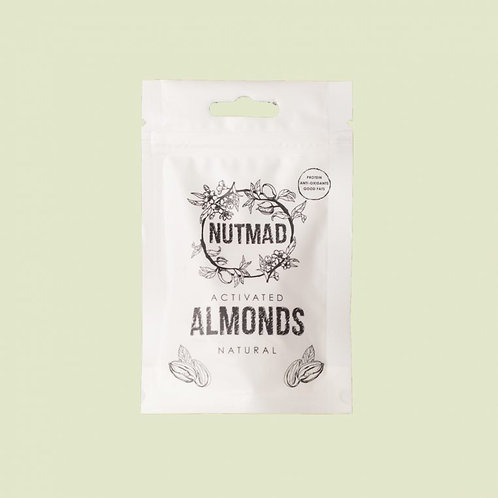 Nutmad Activated Almonds 70g - Natural