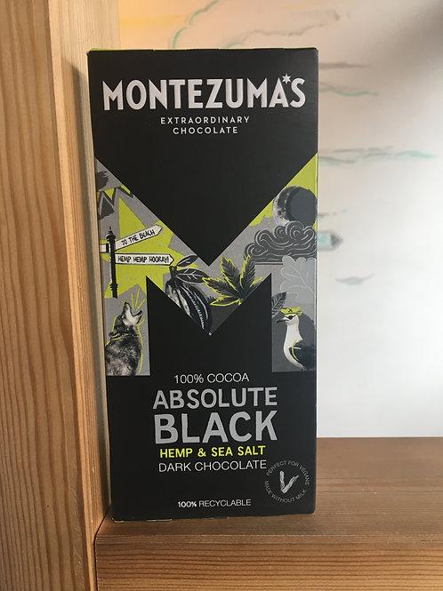 Organic 100% Dark Chocolate- Hemp & Sea Salt