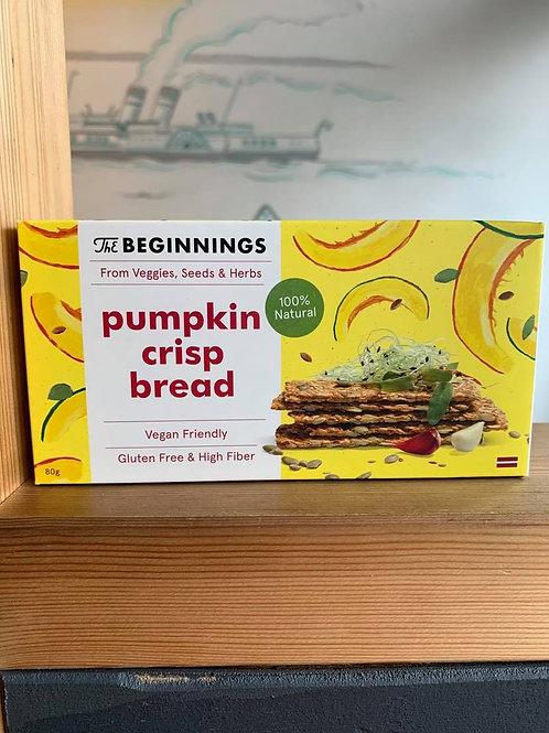 Keto Pumpkin Crispbread