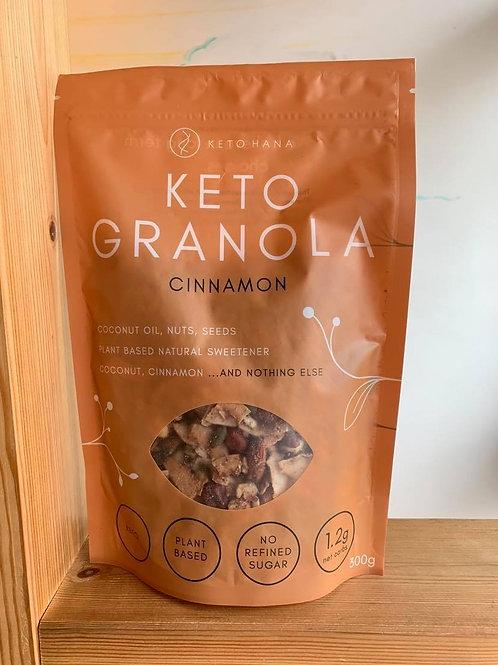 Keto Granola Crunchy Cinnamon & Coconut 300g