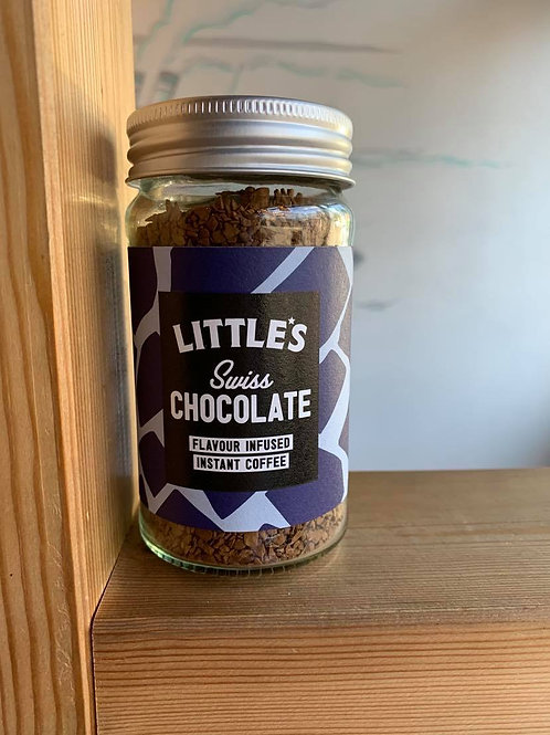 Little's Swiss Chocolate Instant flavour infused Coffee