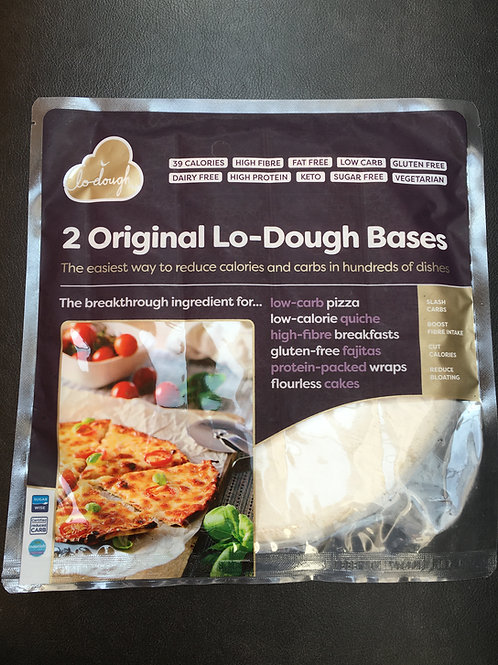 Lo-Dough Bases- Gluten-Free, Low Carb