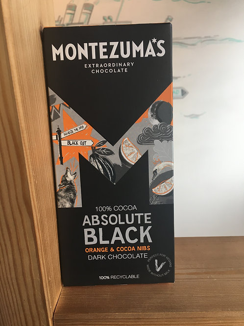 Organic 100% Dark chocolate- Orange & Cacao nibs