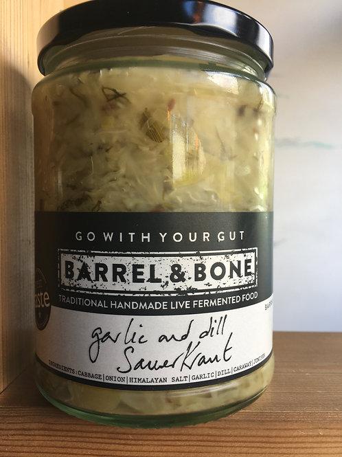Garlic & Dill live Sauerkraut