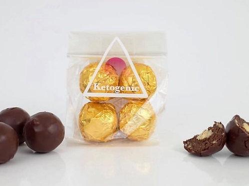 Keto Faux-rerro Chocolate Hazelnut delights.