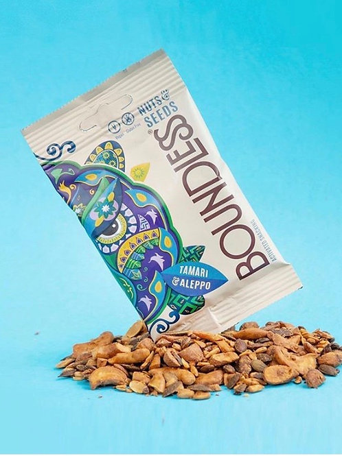 Activated Seeds & Nuts Tamari & Aleppo - Boundless