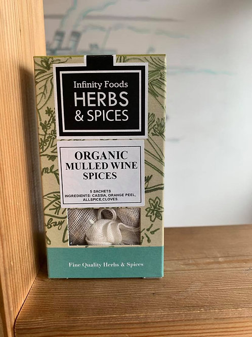 Organic Mulled Wine Spices