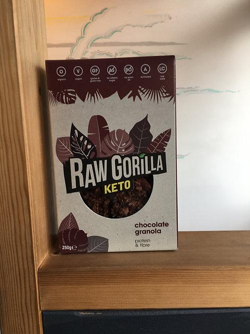 Raw Gorilla Chocolate Keto Granola