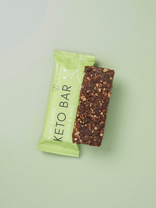 Cocoa & Mint Keto Bar