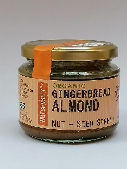 Nutcessity organic Gingerbread Almond