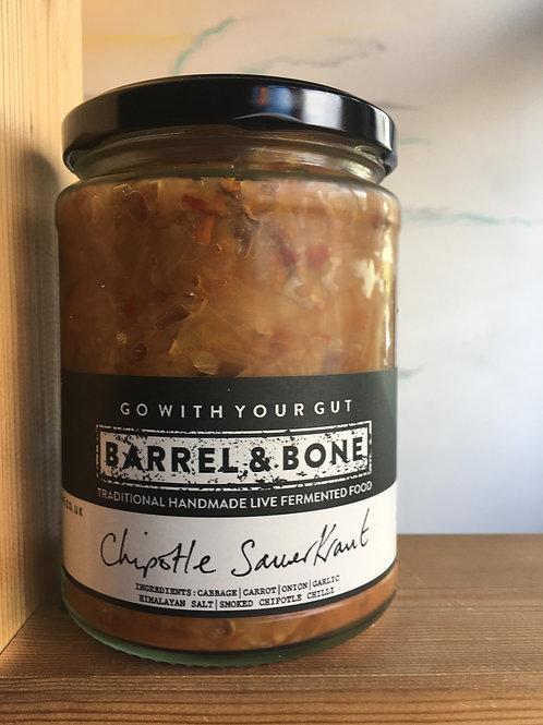 Chipotle live Sauerkraut