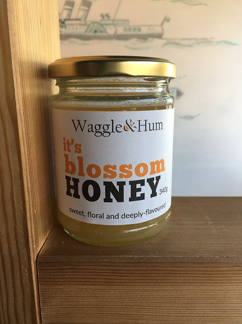Clevedon-made Blossom Honey