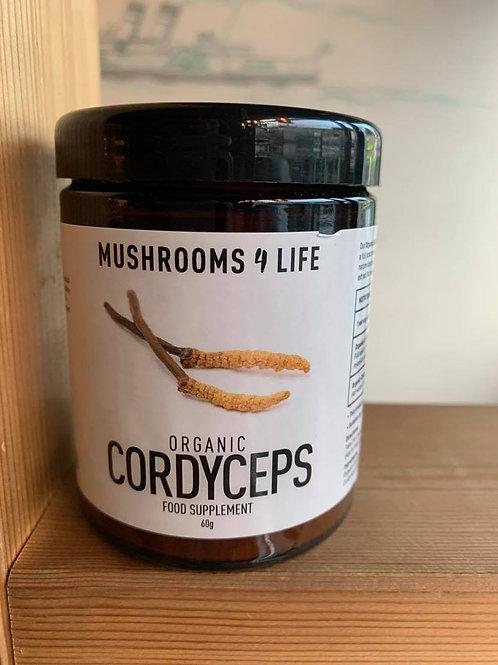Organic Cordyceps 60g