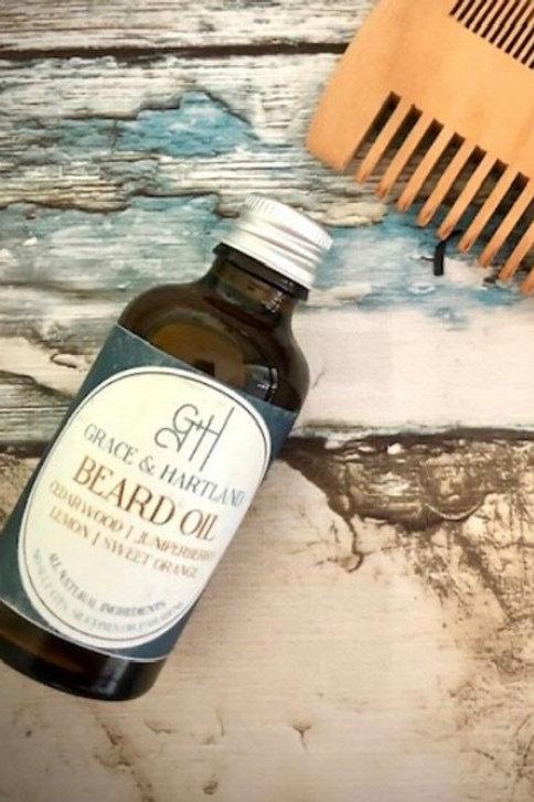 Beard Oil Grace & Hartland