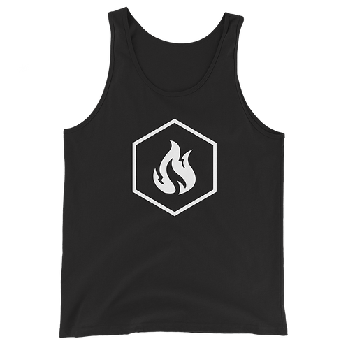 Firestorm Freerunning Logo Hexagon Unisex Tank Top