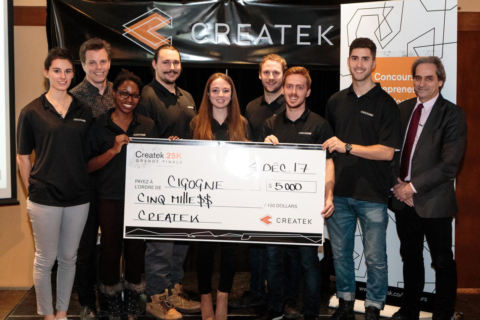 Prix de la relève 5 000$ | Projet Cigogne