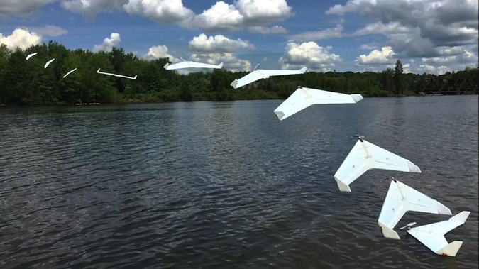 Drone aquatique solaire