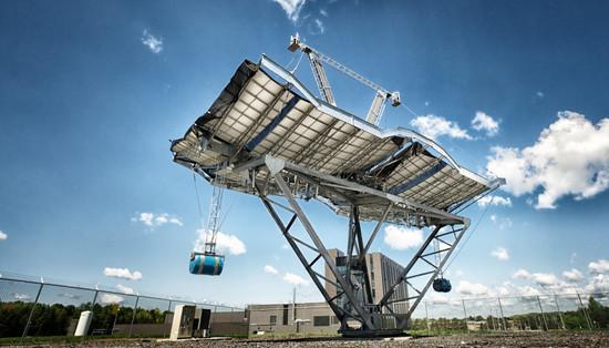 Microréacteurs solaires