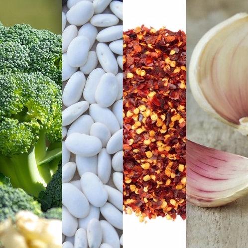 Broccoli White Bean Soup 32oz