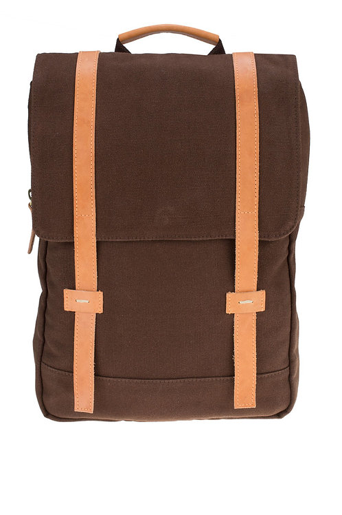 Travv-Backpack Medi Brown
