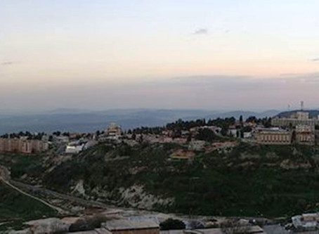 Panoramic View from Safed to the Sea of Galilee