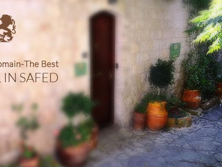 Palacio Domain – The Best Hotel in Safed