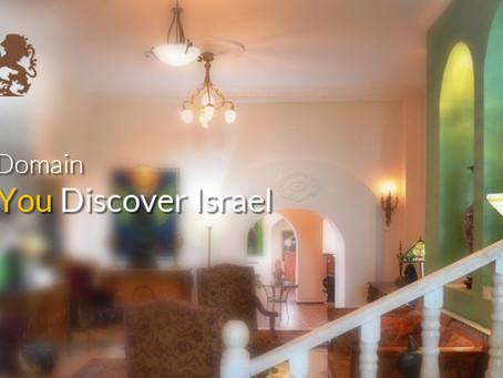 Palacio Domain Helps You Discover Israel