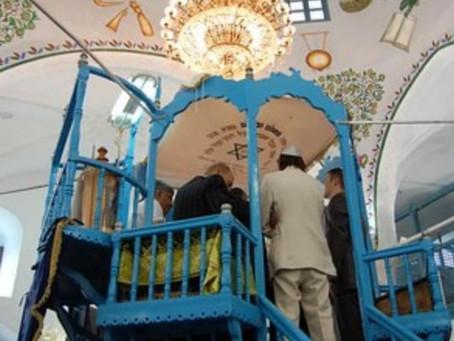 Abuhav Synagogue in Tzfar