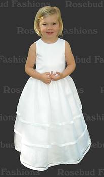 Rosebud flowergirl dresses