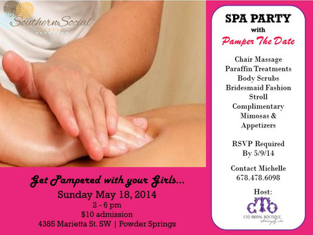 Get Pampered with Pamper the Date