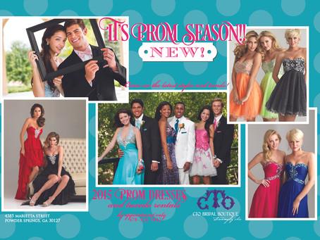 It's Prom Season!!!! NEW to CTO Bridal